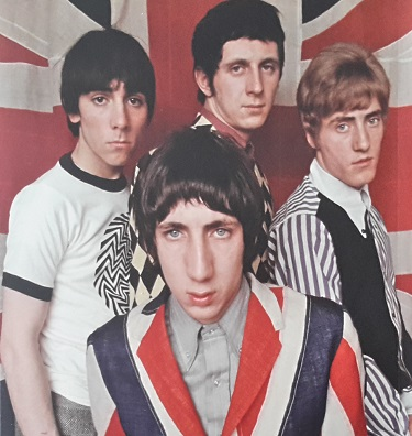 Keith, John, Pete and Roger from The Who